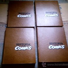 Cómics: HISTORIA DE LOS COMICS TOMOS 1 A 4 (COMPLETA) DE JAVIER COMA Y OTROS (TOUTAIN EDITOR). Lote 28342996