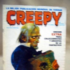 Cómics: COMIC, CREEPY, Nº CERO, EDICION EXTRA, TOUTAIN, ORIGINAL. Lote 28698003