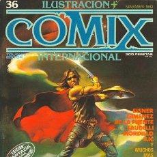 Cómics: COMIX INTERNACIONAL 36 - BORIS, SAUDELLI, DE LA FUENTE, DAS PASTORAS, MANEL FERRER... - TOUTAIN. Lote 253202980