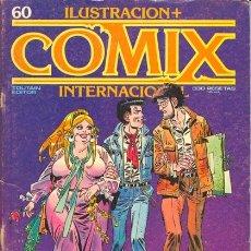 Fumetti: COMIX INTERNACIONAL 60 - GIMENEZ, ABULI, BERNET, SCHULTHEISS, DE LA FUENTE... - TOUTAIN. Lote 28816159
