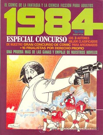 1984 - ESPECIAL CONCURSO PARA AFICIONADOS - TOUTAIN (Tebeos y Comics - Toutain - 1984)