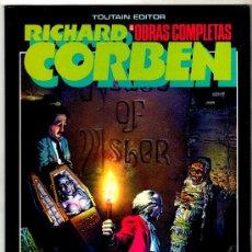 Cómics: RICHARD CORBEN OBRAS COMPLETAS Nº 4, TOUTAIN EDITOR 1985 - EDGAR ALLAN POE. Lote 29128625