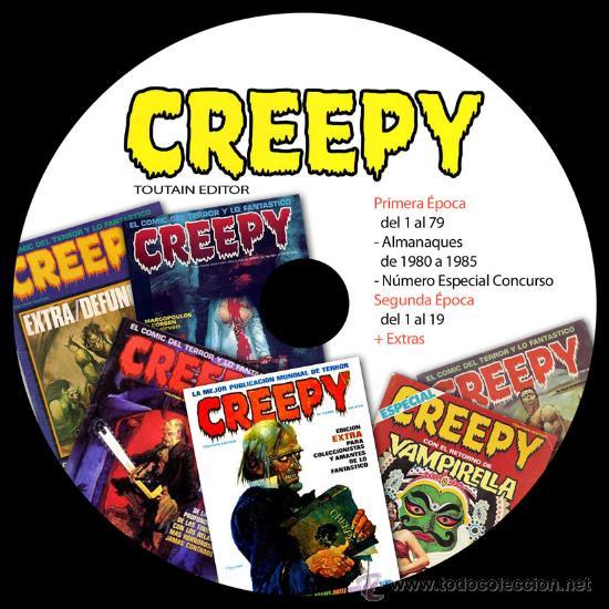 Cómics: COLECCION TOUTAIN - CREEPY - 1984 - ZONA84 - COMIX INT - TOTEM - 8 DVDS - VAMPUS - VAMPIRELLA - Foto 2 - 206973622