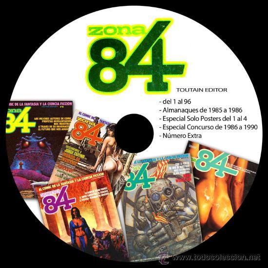 Cómics: COLECCION TOUTAIN - CREEPY - 1984 - ZONA84 - COMIX INT - TOTEM - 8 DVDS - VAMPUS - VAMPIRELLA - Foto 4 - 206973622