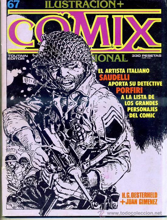 COMIX Nº 67 (Tebeos y Comics - Toutain - Comix Internacional)