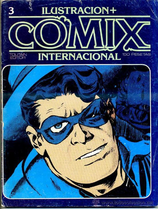 COMIX Nº 3 (Tebeos y Comics - Toutain - Comix Internacional)