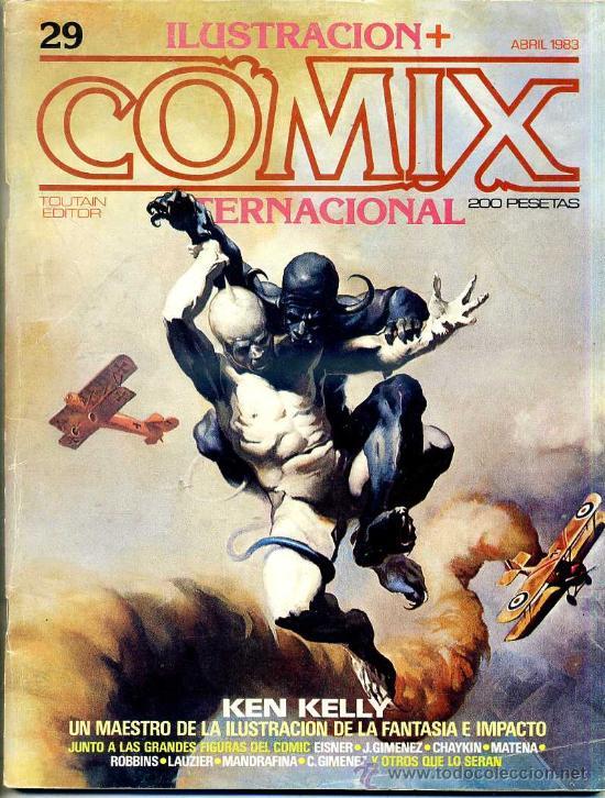 COMIX Nº 29 (Tebeos y Comics - Toutain - Comix Internacional)