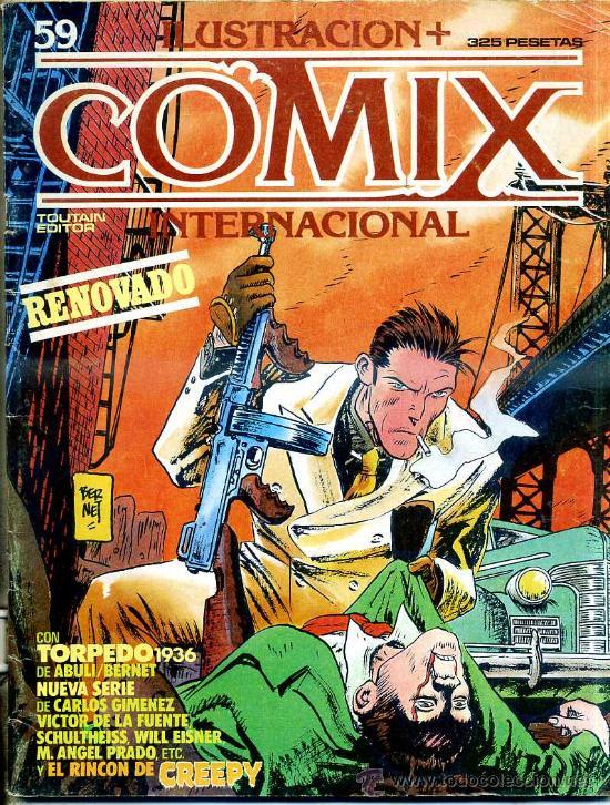 COMIX Nº 59 (Tebeos y Comics - Toutain - Comix Internacional)