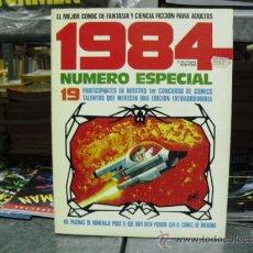 Cómics: 1984 ESPECIAL CONCURSO - NÚMERO 1 - TOUTAIN EDITOR 1980. Lote 29693480