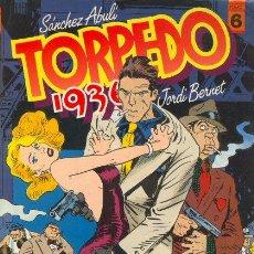 Cómics: TORPEDO 1936 TOMO 6 - JORDI BERNET SANCHEZ ABULI - TOUTAIN. Lote 29963365