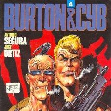 Cómics: BURTON & CYB 4 - ANTONIO SEGURA, JOSE ORTIZ - TOUTAIN. Lote 30015575