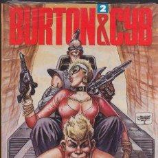 Cómics: BURTON & CYB 2 - ANTONIO SEGURA, JOSE ORTIZ - TOUTAIN. Lote 30053646