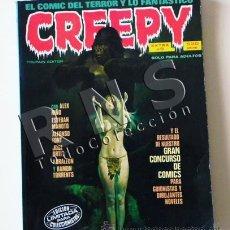 Cómics: CREEPY EXTRA 9 LOTE 3 COMICS 42 43 44 - PARA ADULTOS TERROR MIEDO - CÓMIC TOUTAIN -CON PORTADAS. Lote 30383688