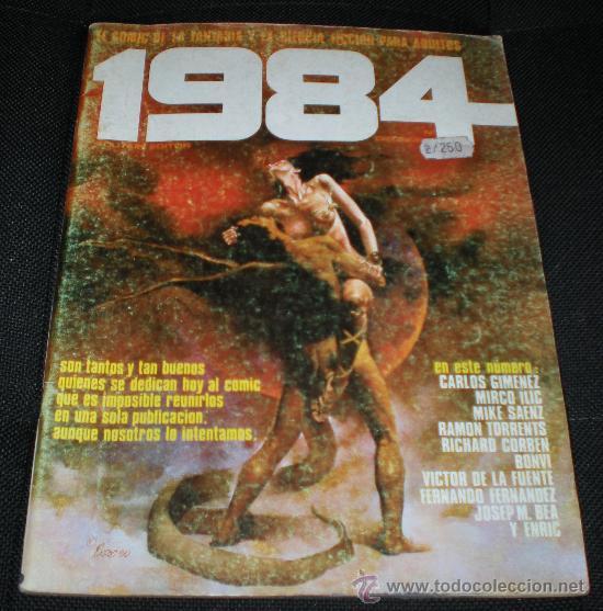 1984 NÚMERO 19 (Tebeos y Comics - Toutain - 1984)