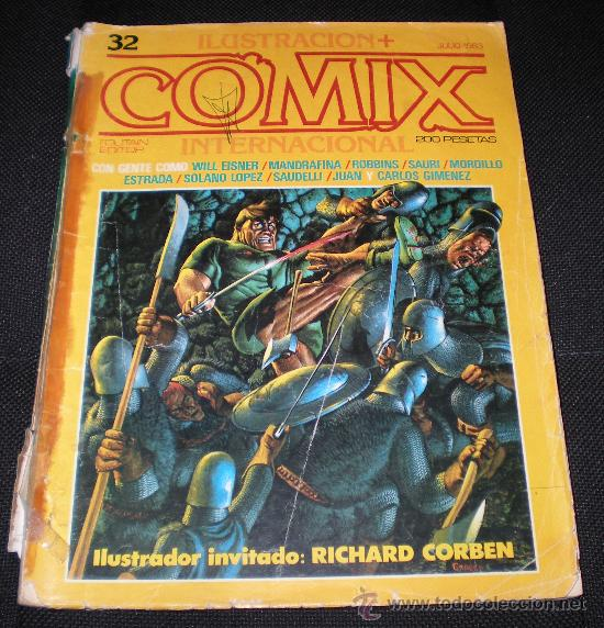 COMIX INTERNACIONAL 32 (RAFA.COMIC) (Tebeos y Comics - Toutain - Comix Internacional)