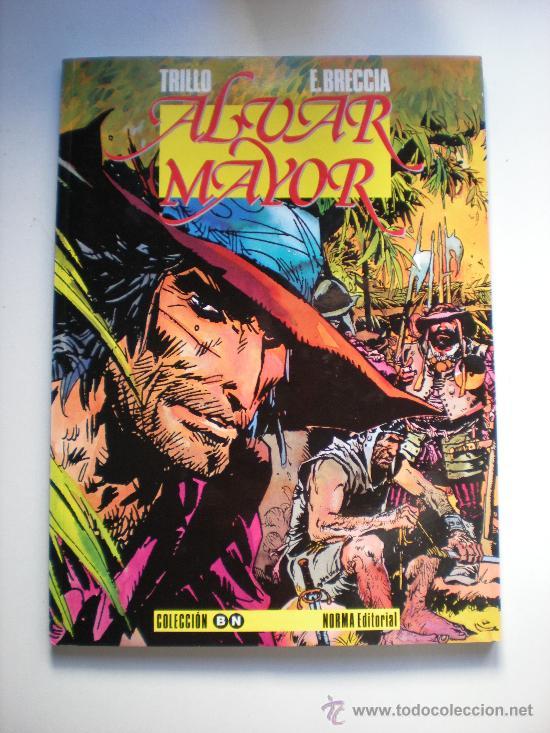 ALVAR MAYOR POR TRILLO Y BRECCIA (Tebeos y Comics - Toutain - Álbumes)