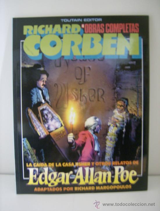 RICHARD CORBEN OBRAS COMPLETAS Nº . EDGAR ALLAN POE. TOUTAIN, 1985. (Tebeos y Comics - Toutain - Álbumes)