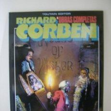 Cómics: RICHARD CORBEN OBRAS COMPLETAS Nº . EDGAR ALLAN POE. TOUTAIN, 1985. . Lote 30852208