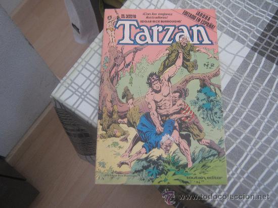EL NUEVO TARZAN V 1 Nº 2 (Tebeos y Comics - Toutain - Otros)
