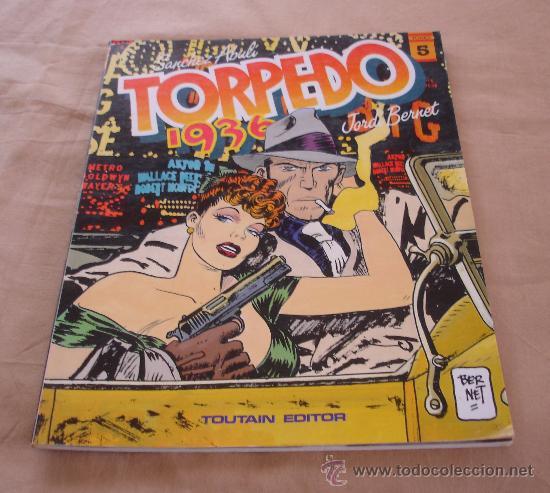 TORPEDO 1936, TOMO 5, - E. SANCHEZ ABULI - JORDI BERNET - TOUTAIN. (Tebeos y Comics - Toutain - Otros)