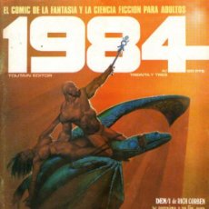 Cómics: 1984 - COMIC TOUTAIN - Nº 33 - RICHARD CORBEN, FRANK THORNE, JUAN GIMENEZ, ESTEBAN MAROTO, J.M. BEA. Lote 31555006