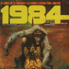 Cómics: 1984 - COMIC TOUTAIN - Nº 37 - RICHARD CORBEN, FRANK THORNE, ALFONSO FONT, ESTEBAN MAROTO, J. M. BEA. Lote 31555072