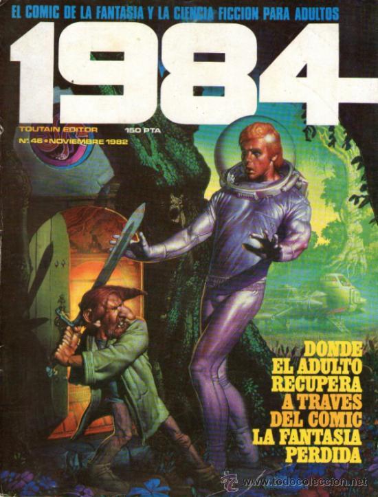 1984 - COMIC TOUTAIN - Nº 46 - RICHARD CORBEN, FRANK THORNE, ALFONSO FONT, ESTEBAN MAROTO, GIMÉNEZ. (Tebeos y Comics - Toutain - 1984)
