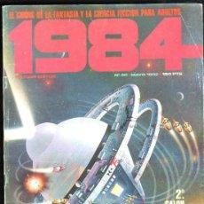 Cómics: 1984, EL COMIC DE LA FANTASÍA Y LA CIENCIA FICCIÓN PARA ADULTOS, TOUTAIN, Nº40, MAYO 1982, ESPECIAL. Lote 31673730
