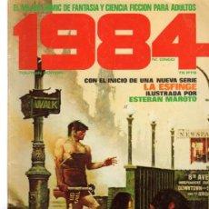 Cómics: 1984, Nº 5, EL MEJOR COMIC DE FANTASÍA Y CIENCIA FICCIÓN PARA ADULTOS. Lote 31719717