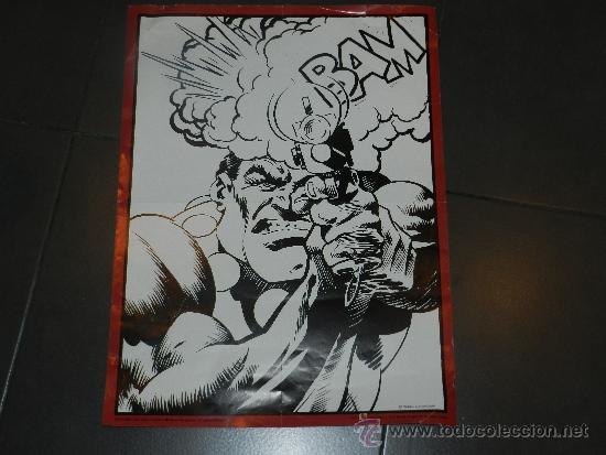 (M) POSTER TOUTAIN EDITOR 1979 - 56 X 41'5 CM, PEQUEÑAS ROTURITAS (Tebeos y Comics - Toutain - Obras Completas)