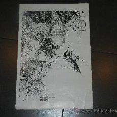 Cómics: (M) POSTER 1984 VAMPIRELLA POSTER OBSEQUIO DE LA REVISTA - 54 X 36 CM, CON ROTURITAS. Lote 32058499
