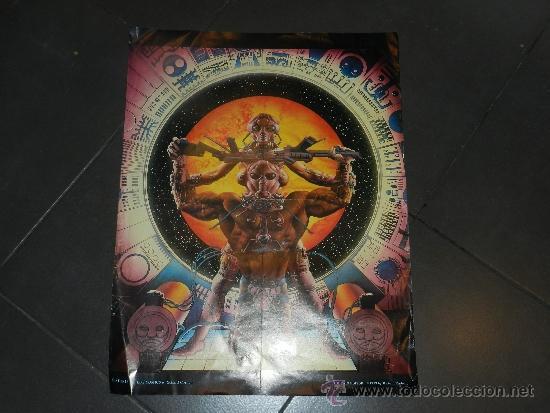 (M) POSTER TOUTAIN EDITOR 1979 - 56,5 X 43 CM, ROTURITAS (Tebeos y Comics - Toutain - Otros)