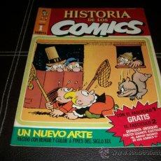 Cómics: HISTORIA DE LOS COMICS Nº 1 TOUTAIN 1982 . Lote 32109545