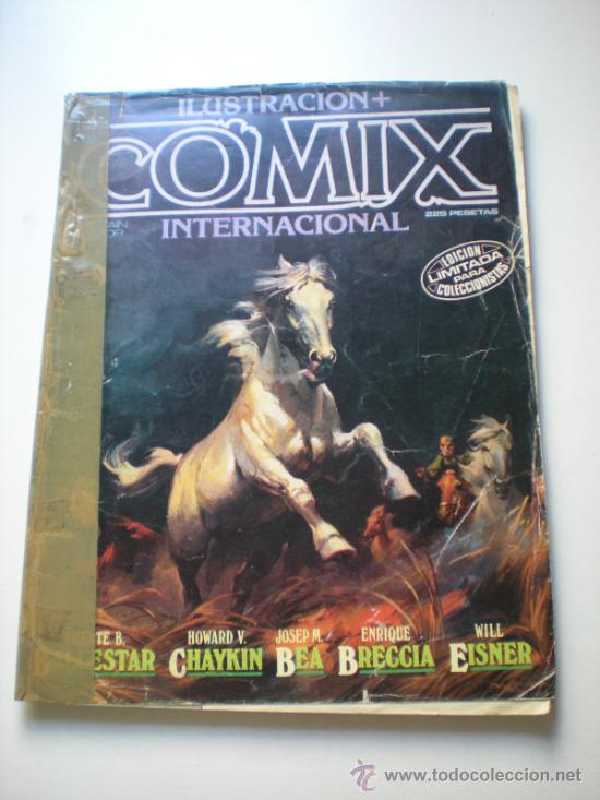 COMIX INTERNACIONAL 6 (RAFA.COMIC) (Tebeos y Comics - Toutain - Comix Internacional)