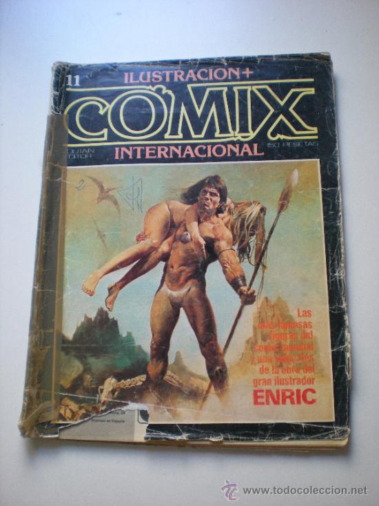 COMIX INTERNACIONAL 11 (RAFA.COMIC) (Tebeos y Comics - Toutain - Comix Internacional)
