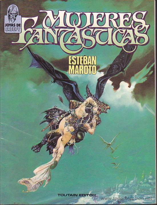 COMIC JOYAS DE CREEPY MUJERES FANTASTICAS AUTOR ESTEBAN MAROTO (Tebeos y Comics - Toutain - Álbumes)
