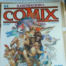 Cómics: COMIC AVENTURAS TOUTAIN: COMIX 64 WILL EISNER CARLOS JIMENEZ JORDI BERNET LJ.E. Lote 86438292