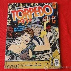 Cómics: TORPEDO 1936. Nº 5 POR BERNET. TOUTAIN. Lote 32653191