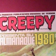 Cómics: CREEPY. ALMANAQUE 1980.. Lote 173164965