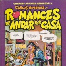 Cómics: GRANDES AUTORES EUROPEOS Nº 3. ROMANCES DE ANDAR POR CASA.. Lote 32787299