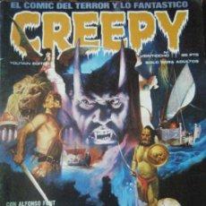 Cómics: CREEPY Nº 28 TOUTAIN 1980. Lote 32832316