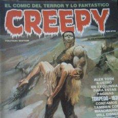 Cómics: CREEPY Nº 32 TOUTAIN EDITOR FEBRERO 1982.. Lote 32832348
