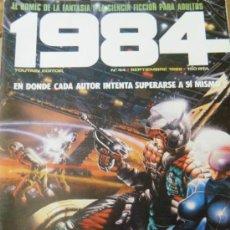 Cómics: 1984 Nº44 SEPT 1982 TOUTAIN EDITOR FANTASIA Y CIENCIA FICCIÓN PARA ADULTOS.. Lote 32859266