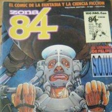 Cómics: ZONA 84 Nº69 INCLUIDO SUPLEMENTO FORJA 84 TOUTAIN EDITOR. 1984. Lote 32859284