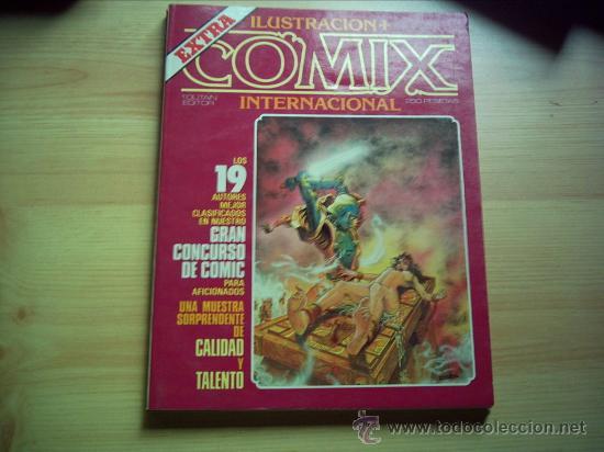 ILUSTRACION+ COMIX INTERNACIONAL. EXTRA. (Tebeos y Comics - Toutain - Comix Internacional)