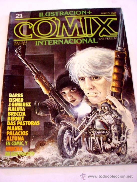 COMIX INTERNACIONAL--Nº 21--AÑO 1982--ORIGINAL (Tebeos y Comics - Toutain - Comix Internacional)