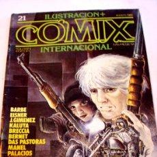Comics: COMIX INTERNACIONAL--Nº 21--AÑO 1982--ORIGINAL. Lote 33472836
