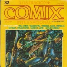 Cómics: COMIX INTERNACIONAL. LOTE DE 10 EJEMPLARES DEL 32 AL 41.. Lote 33515453