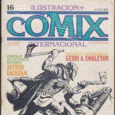 Cómics: COMIX INTERNACIONAL. LOTE DE 16 EJEMPLARES DEL 16 AL 31... Lote 33517953