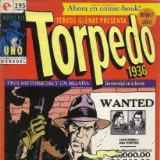 Cómics: JORDI BERNET. TORPEDO, ANDRAX. DOS NUMEROS . Lote 33560289
